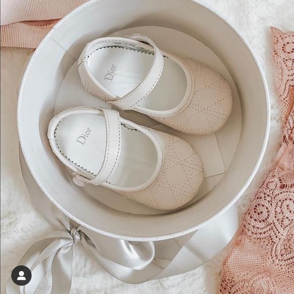Baby Dior Ballerina Baby Shoes   Poshmark